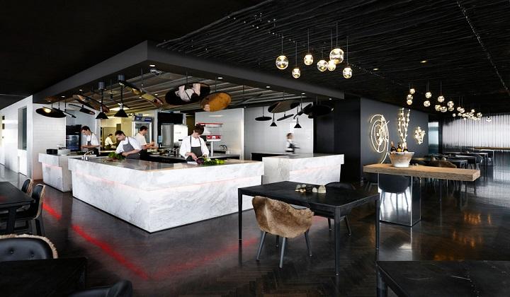 Vue du Monde, Fine Australian Cuisine  Vue de Monde, Fine Australian Cuisine Vue du Monde Top Australia Restaurant Kitchen1