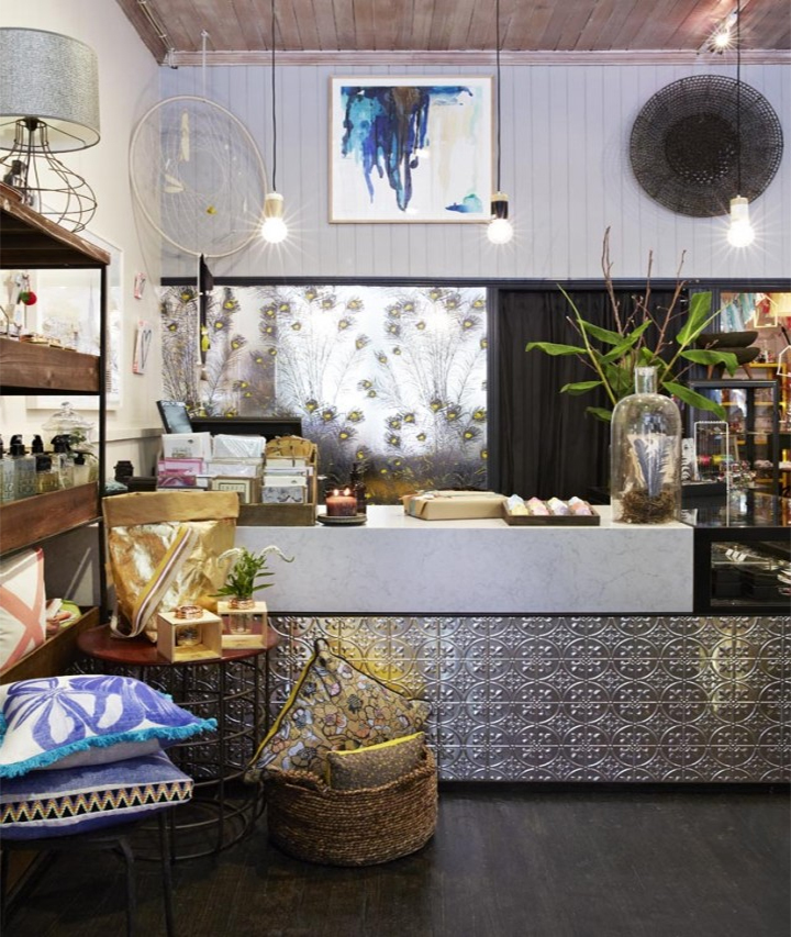 Divine store Feathered Arbour in Melbourne's Carlton North