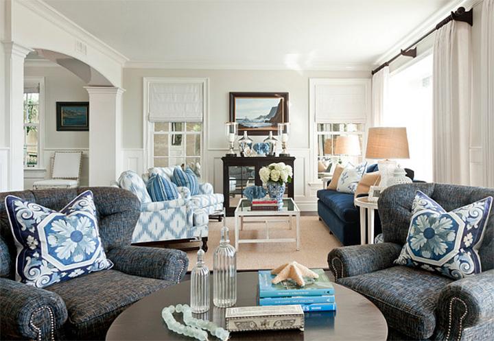 Classic Coastal Interiors - Beach House  Classic Coastal Interiors – Beach House 1