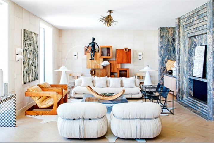 Living interiors with Kelly Wearstler at home